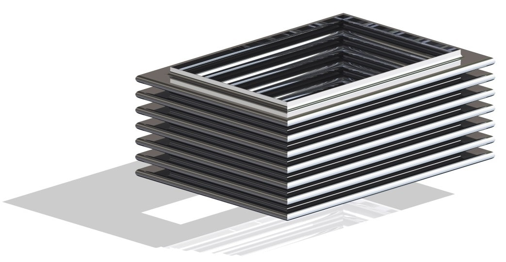 Ocelflex rectangular metal expansion joint